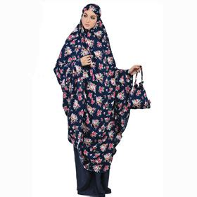 Mukena Tatuis Shiva 051 Purple nur aini collection
