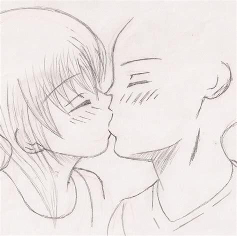 kiss tutorial deviantart kissing couple by lingering puppet on deviantart