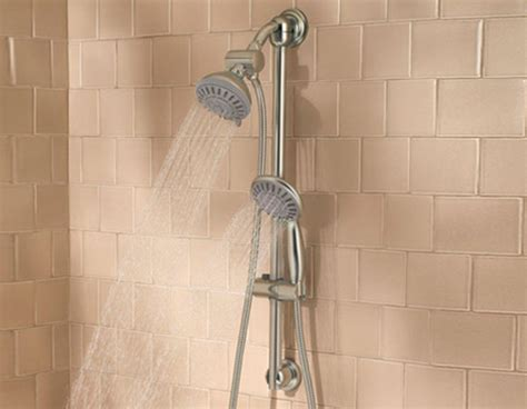 best bathroom showers best dual shower head reviews your top choices showerheadly