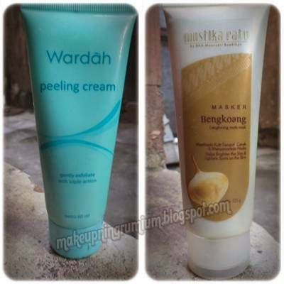 Masker Wardah makeupningrumium review wardah peeling dan