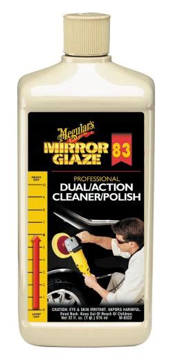 Meguiars Profesional Mirror Glazze Dual Cleaner Dan meguiars m 8332 shop professional dual cleaner 32 oz