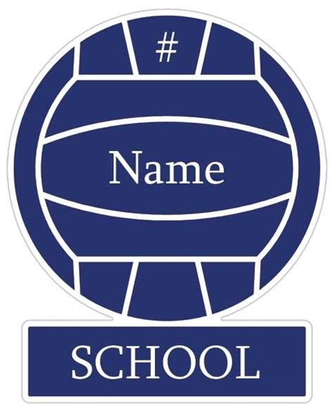 printable volleyball name tags volleyball signs for locker room joy studio design