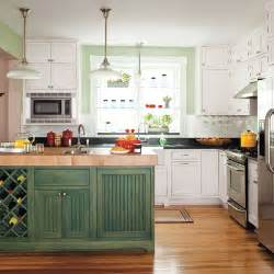 Green Kitchen Island Pine Green Editors Picks Our Favorite Green Kitchens