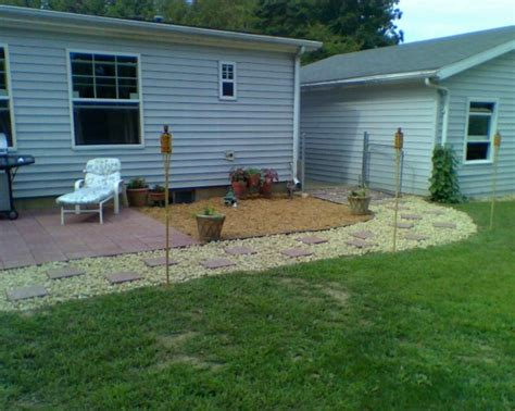 backyard mobile home total double wide manufactured home remodel