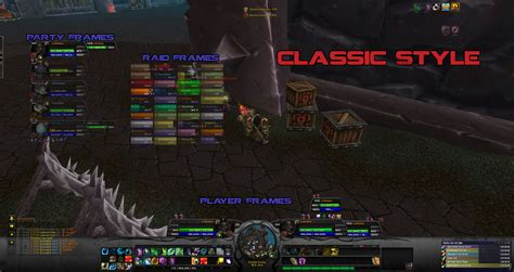 wow raid frame add ons images spartanui addons projects wow curseforge