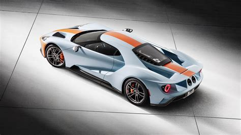 gulf ford gt 2019 ford gt gulf heritage livery stirs up feelings
