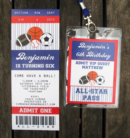 sports ticket template free all ticket invitations ticket invitation birthdays