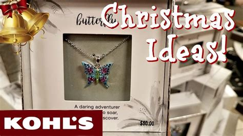 kohls christmas gifts shop with me kohl s jewelry clearance gift stuffer 2017