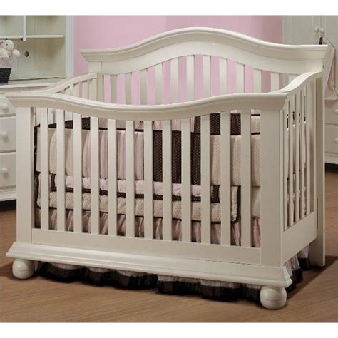 Baby Cribs by Sorelle Vista Couture Baby Crib In White 285 Fw