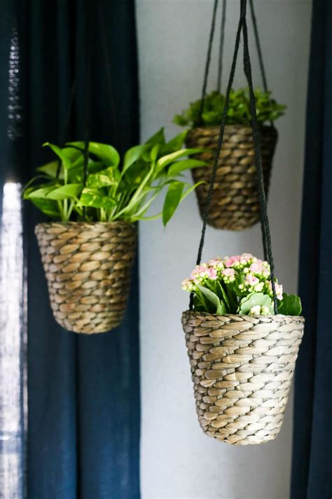 diy hanging planters diy indoor hanging planters love renovations