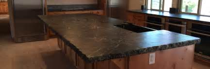 Soapstone Kitchen Countertops How To Install A Soapstone Countertop Brown Hairs