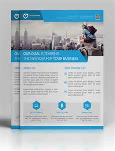 Design Templates For Flyers by 25 Professional Corporate Flyer Templates Design