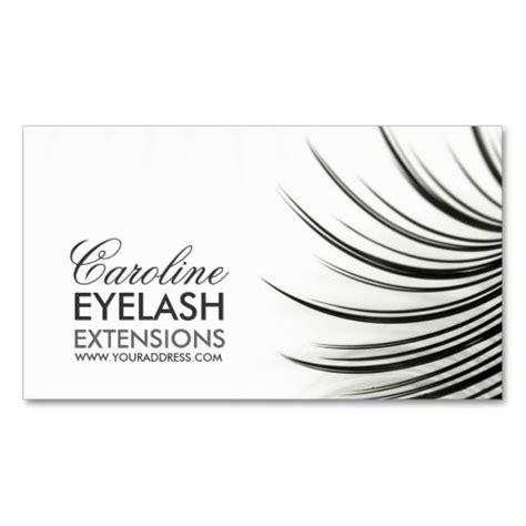 Chrome Extension To Make Business Card Template by Minimalistic Eyelash Extensions Business Card Business
