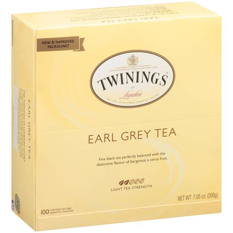 Twinings Tea Earl Grey 100 Count twinings of earl grey tea 100 count bags single pack