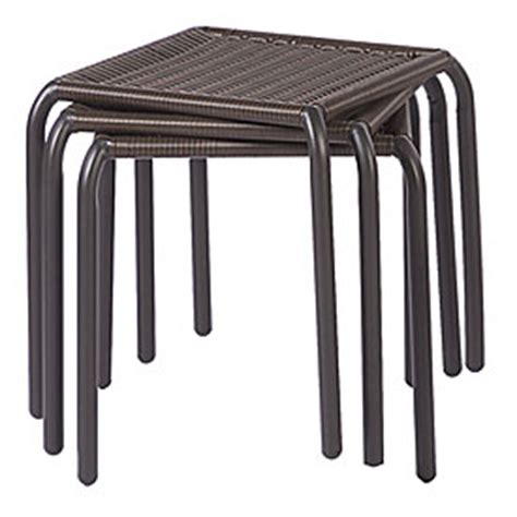 resin wicker side table view resin wicker stack side table deals at big lots