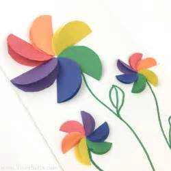 construction paper arts and crafts best 20 construction paper flowers ideas on