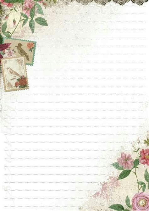 pretty paper to write letters on pretty papel de carta stationery