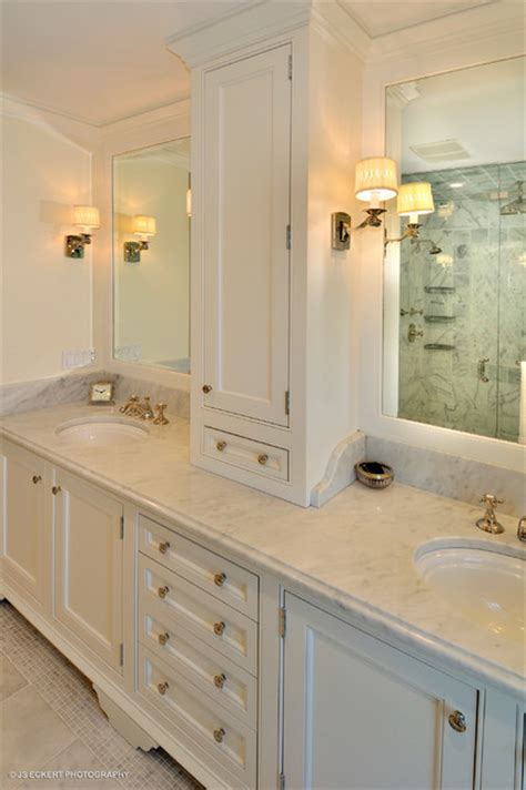 Masters Bathroom Vanity Classic Master Bathroom Vanity Traditional Bathroom Chicago By Melichar Architects
