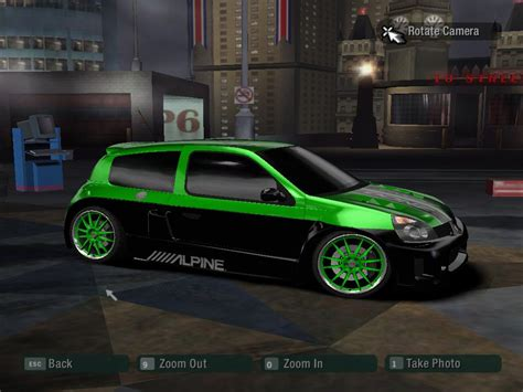 Renault Clio V6 By Santiago007 Need For Speed Carbon