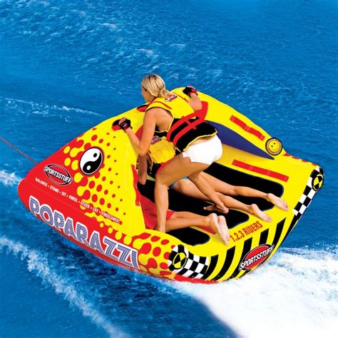 boat water tubes for sale airhead poparazzi 3 rider towable cottage toys