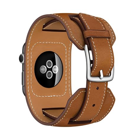 Monochrome Leather Band For Apple 38mm 10 fohuas luxury genuine leather band tour