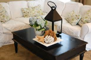 How To Decorate A Coffee Table how to decorate a coffee table for real people
