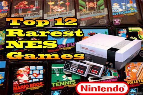best nes top 12 rarest nes most expensive nes