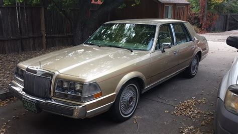 car owners manuals for sale 1985 lincoln continental mark vii electronic throttle control 1985 lincoln continental for sale colorado springs colorado
