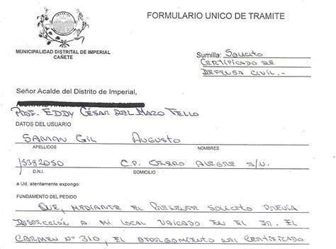 formatos de certificado de defensa civil municipalidaddistritaldeimperial formatos de certificado