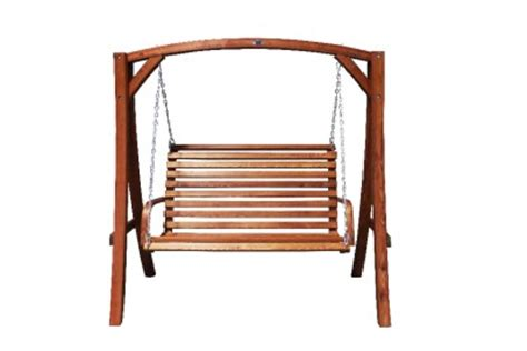 hanging wooden swing bench solid hardwood outdoor wooden hanging chair swing