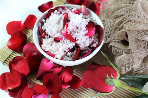 rose petal bath salts  steps  pictures