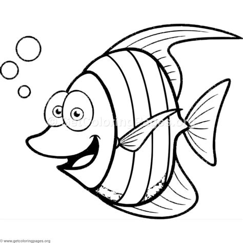 Tropical Fish Coloring Pages by Tropical Fish Coloring Coloring Pages