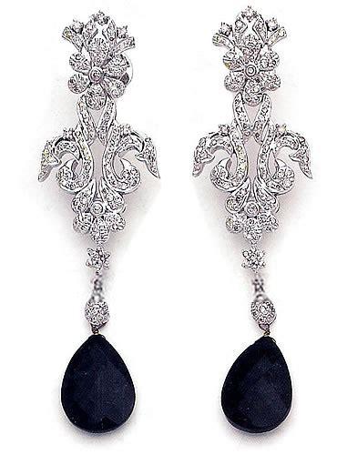 Handmade Costume Jewellery Uk - jw4896 black jewellery fashion earrings stud earrings