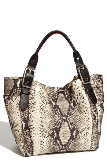 Gustto Cala Snakeskin Print Satchel by Mz Wallace Quot Quot Snake Print Tote This Bag Is Made Out Of