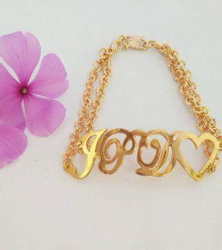 Gelang Nama gelang nama lapis emas jual kalung nama