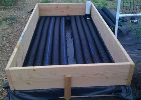 above ground garden beds welcome to above ground farming journal building a sub irrigated raised bed