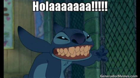 Stitch Hi Meme - stitch meme
