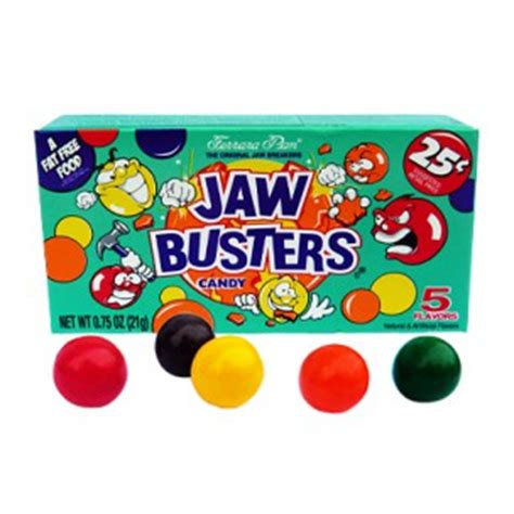 Toaster Pops Ferrara Pan Jaw Busters Hard Candy