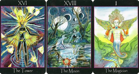 eno s tarots tarot of the sidhe mclean edition