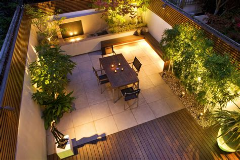 Garden Lighting Gallery From Garden Lighting London Patio Lighting Design