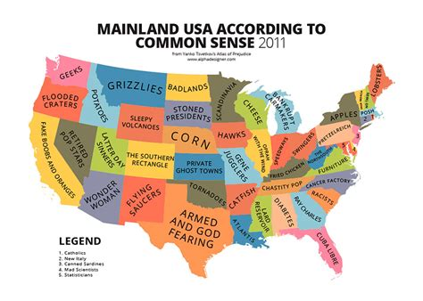 usa map jokes 31 maps mocking national stereotypes around the world