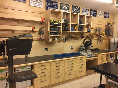 pin  don grimm  miter  station woodworking shop