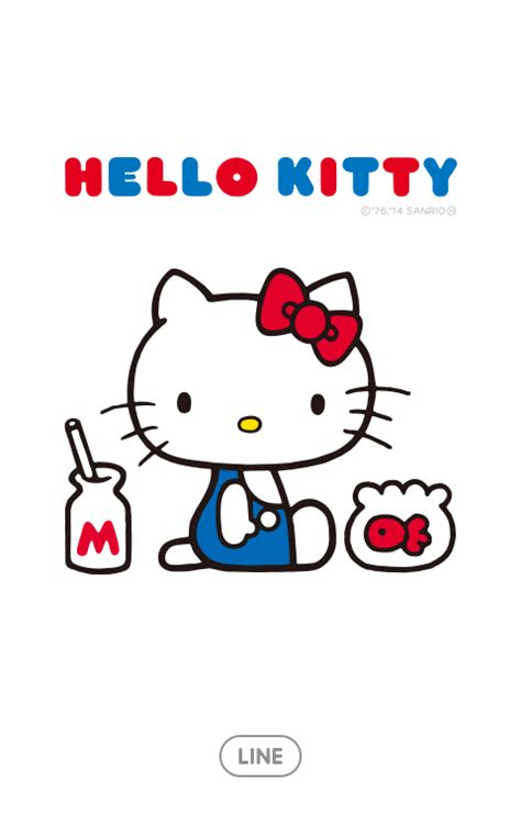 theme line android hello kitty theme line hello kitty บร การส ง sticker line gift