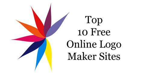 graphic design logo maker top 10 best free online logo maker sites to create custom