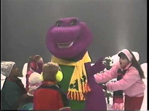 barney backyard barney the backyard gang waiting for santa 1990