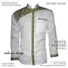 Seragam Putih Lengan Panjang Seragam Batik Kantor Terbaru Model Baju
