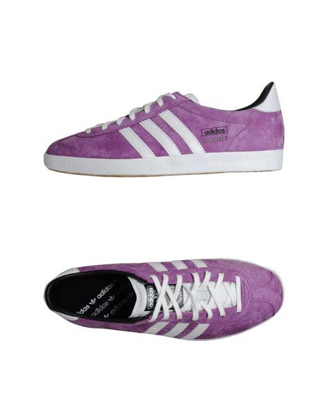 purple adidas sneakers adidas sneakers in purple lyst