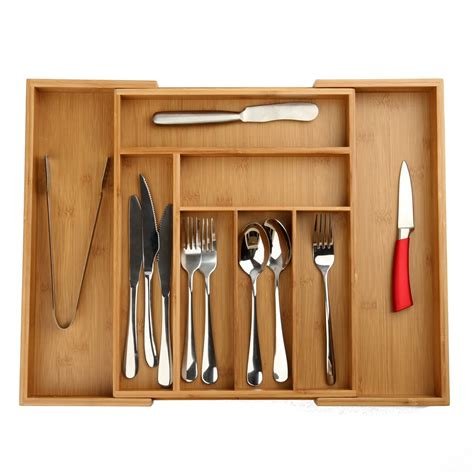 expandable cutlery drawer organizer expandable utility drawer organizer extending cutlery tray
