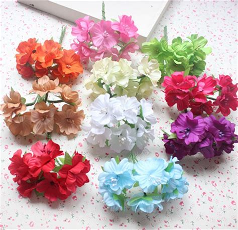 aliexpress com buy 3cm artificial small fabric butterfly