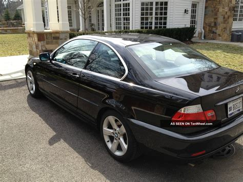 2006 bmw 325 ci 2006 bmw 325ci coupe sport black manual transmission